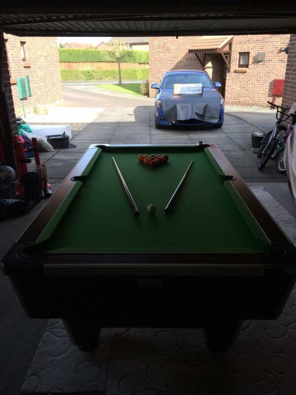 Pool Table 6ft x 3ft Pub
