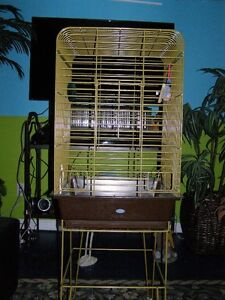 Large Heavy Duty Bird Cage with Stand