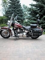 2009 Heritage Classic, 38000 kilometers, 6 speed fuel injected,