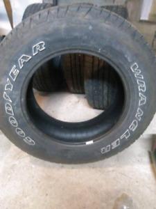 4 265 65 18 goodyear Wrangler truck tires