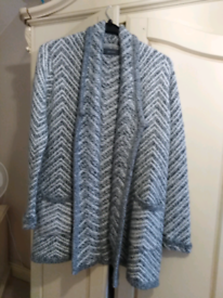 Lovely thick long line coat cardigan