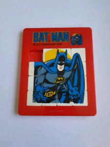 1978 Batman Slide Puzzle.