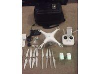 DJI Phantom 3 Advanced 2.7k Quadcopter Drone plus extra battery