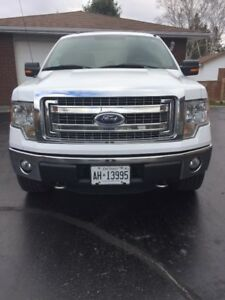 2014 Ford F-150 SuperCrew XLT Series, leather,  Pickup Truck,XTR