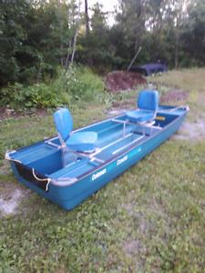 11' Coleman Crawdad Boat