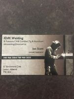 Mobile welder for hire