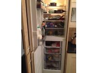 Integrated fridge / freezer