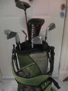 SET of GOLF CLUBS..COMPLETE with BAG / STAND / HARNESS and CLUBS