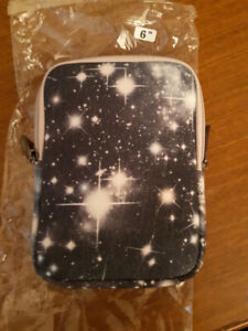 space theme tablet / ereader case 6 inch