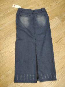 """Denim Skirt Size 32 - 40"""" long"""