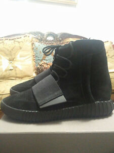 Adidas Yeezy Boost 750 Triple Black Size 10