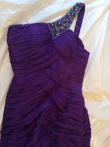 2 Purple Ruffle Tier Asymmetrical, Prom, Bridesmaid Dresses Kitchener / Waterloo Kitchener Area image 9