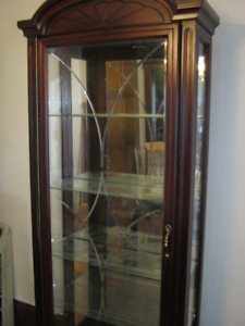 Gorgeous Lighted Curio Cabinet for only $l,500.00
