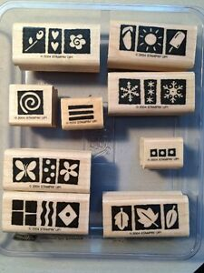Stampin Up Various Wooden Stamp Sets $5 Each