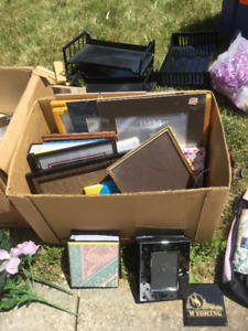 Picture frames and photo albums