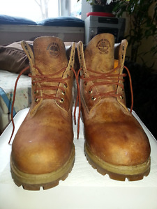 Timberland Premium Leather Waterproof boots - Reduced $