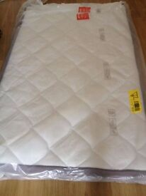 Brand new small double spring mattress 4ft wide - three quarter size- can deliver