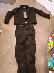 Motorcycle coat and pants