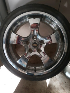 18 inch rims amd tires