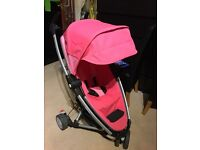 Quinny Zapp extra 2. Used pushchair Pink color