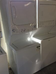 EXTRA LARGE CAPACITY STACKABLE WASHER AND DRYER LIKE NEW!!!!