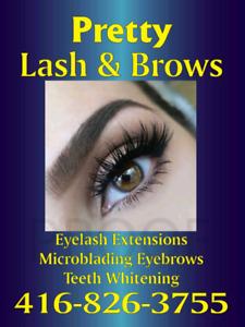 Eyelash extensions/Microblading