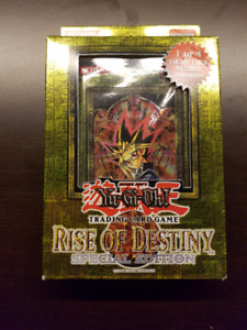 SELLING RISE OF DESTINY YU-GI-OH BOOSTER PACK