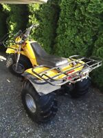 1983 Yamaha Trike 200cc Barn Find condition