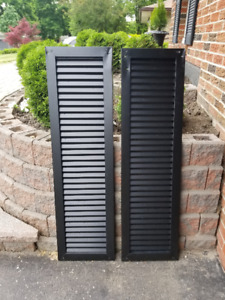 Exterior Window Shutters - (2 Pair)