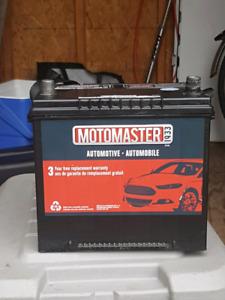 Batterie Motomaster  40.00$