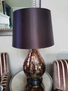 Must sell! Stained glass lamp in excellent