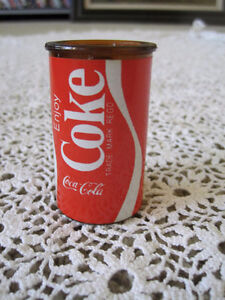 REDUCED - Lot of 2 COCA COLA TIN PENCIL SHARPENERS 2 1/2""