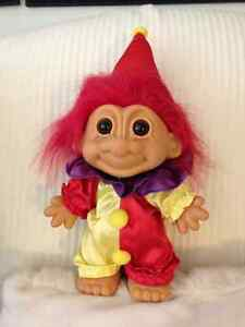 Vintage 70's Troll Clown Doll London Ontario image 1