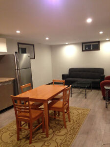 2 bedroom self contained basement suite