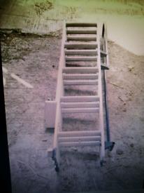 Triple loft / attic ladder