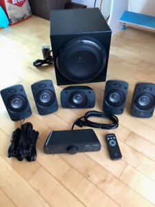Logitech Z906 THX-Certified 5.1 Digital Surround Sound Speaker S