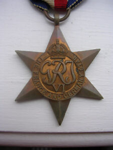 MEDAL, FRANCE & GERMANY STAR