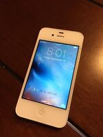 iPhone 4S 16GB White Bell with Charging Dock & Car Mount