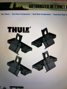 Thule foot pack fit kit for F250 F350 2010-2016