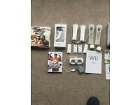 WHITE NINTENDO Wii BUNDLE
