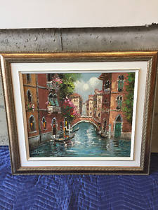 Beautiful Oil painting - Venice