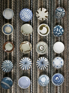 Japanese ceramic dishes