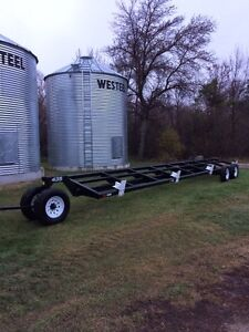 35 ft. and 30 ft. header trailers