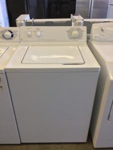 GE White Top Load Washer