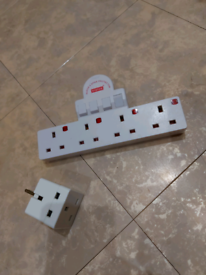 Socket Converter 1 or 2 Gang to 4 Gang
