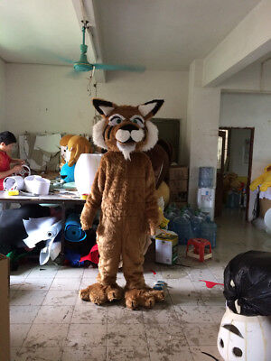 Tiger Mascot Costume Suit Cosplay Animal Parade Party Fancy Dress Adult - Adult Tiger Suit
