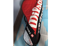 Wilson Tour racket bag, immaculate, bargain at £35, no time wasters please