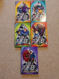Star Fighters books x 5