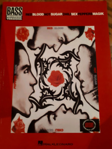 RHCP Bass Tab book