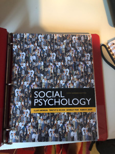 Social psychology aronson kijiji in ontario buy sell save social psychology 6th canadian edition elliot aronson fandeluxe Gallery